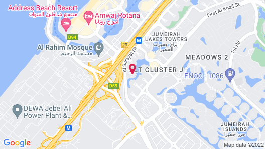Movenpick Hotel Jumeirah Lakes Towers Map