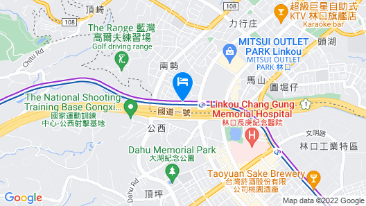 Four Points by Sheraton Linkou Map