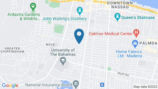 Few Mins Walk to Downtown, Beach, Fishfry, Major Attractions & Near to PI Map
