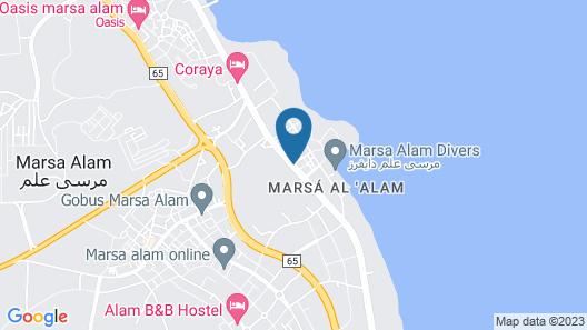 The Three Corners Equinox Beach Resort Map