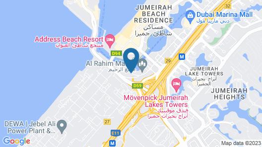 Jannah Marina Hotel Apartments Map