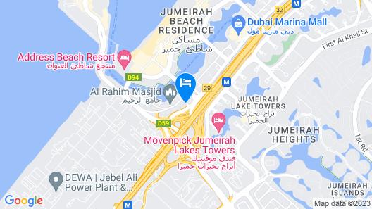 Stella Di Mare Dubai Marina Hotel Map