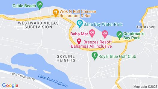 Grand Hyatt Baha Mar Map