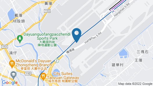 Novotel Taipei Taoyuan International Airport Map