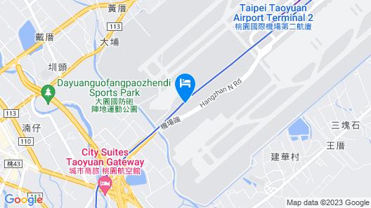 Novotel Taipei Taoyuan International Airport Map