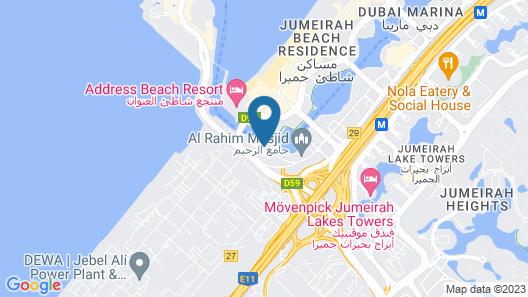 Pearl Marina Hotel Apartments Map