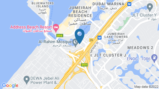 Jannah Place Dubai Marina Map