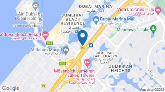 Millennium Place Marina Map