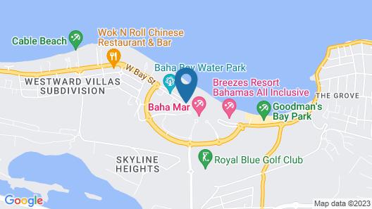 SLS Baha Mar Map