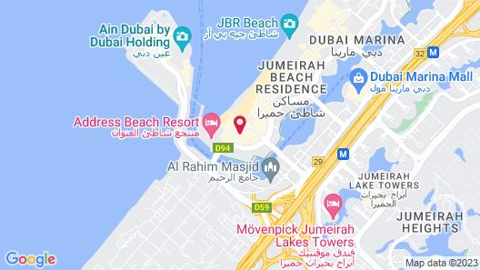 Sheraton Jumeirah Beach Resort Map