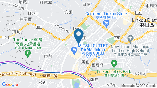 UINN RELAX HOTEL (New Taipei Linkou) Map