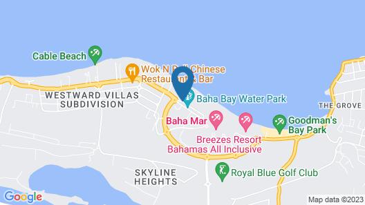 Melia Nassau Beach - All Inclusive Map