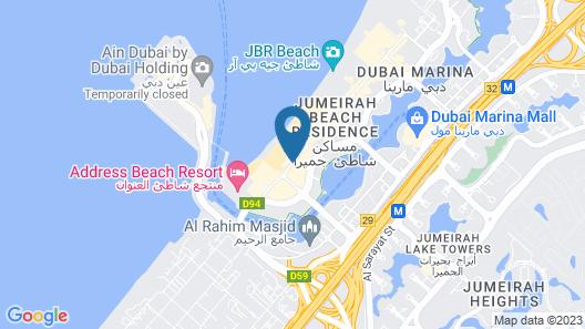 Ramada Hotel and Suites by Wyndham Dubai JBR Map