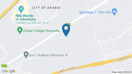 Ensuite Rooms and Studios - DUBAI Map