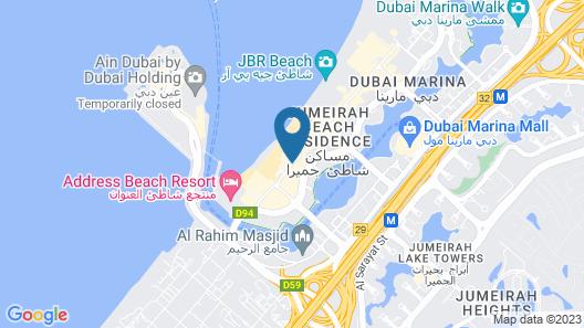Roda Amwaj Suites Map