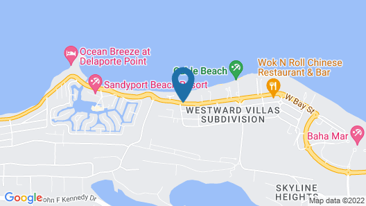 Coco Plum Resorts Bahamas Map