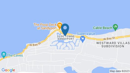 Sandyport Beach Resort Map