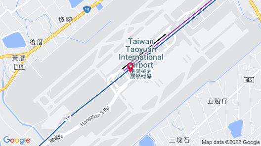The Stay Capsule Hotel-Taoyuan Airport T2 Map