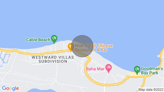 Private Beach Right Next To Your Door! Map