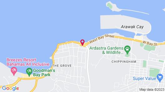 Wyndham Nassau Resort Map