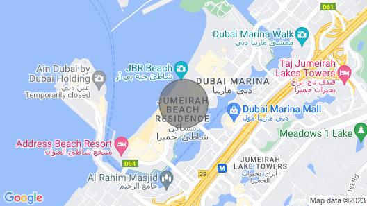 Sonder - JBR Suites Map
