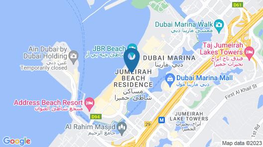 Hilton Dubai The Walk Map