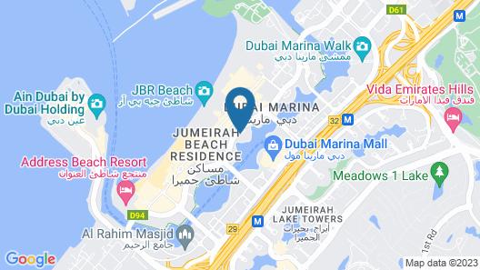 InterContinental Dubai Marina, an IHG Hotel Map