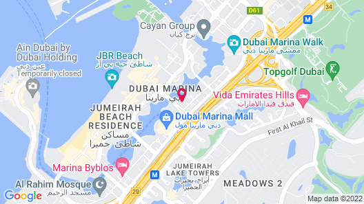 Kennedy Towers - Marina View Map