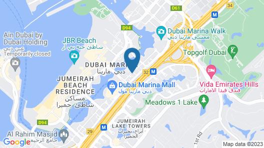 La Verda Suites & Villas Dubai Marina Map