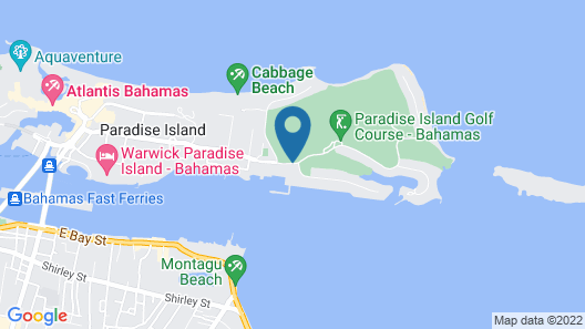 Paradise Harbour Club & Marina Map