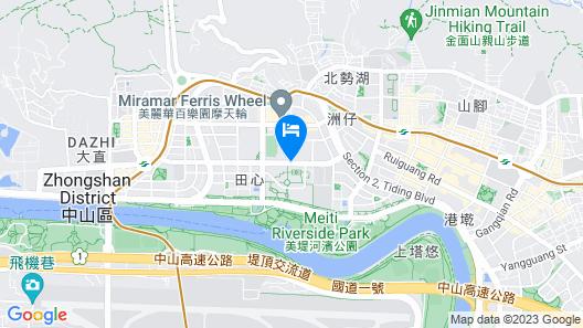 Taipei Marriott Hotel Map