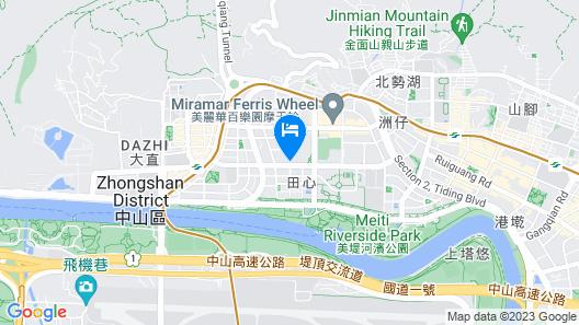 Grand Mayfull Hotel Taipei Map