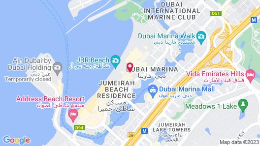 Movenpick Hotel Jumeirah Beach Map