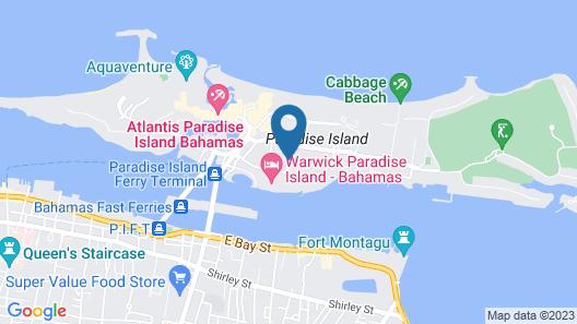 Paradise Island Beach Club - Sun View 2 Bedroom Apts Map