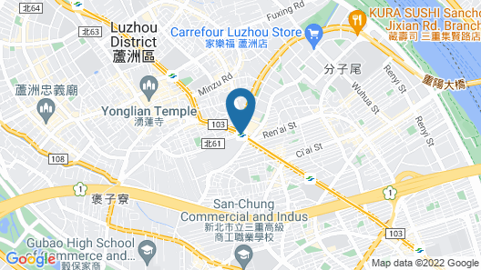 Park City Hotel Luzhou Taipei Map