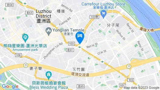 F Hotel Luzhou Taipei Map