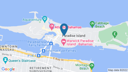 Comfort Suites Paradise Island Map