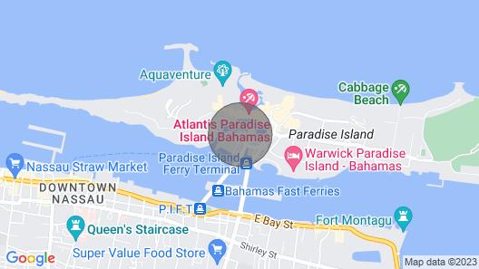 Harborside at Atlantis 1BR Villa Premium With Full Atlantis Access Map