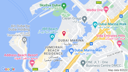 The Ritz-Carlton, Dubai Map