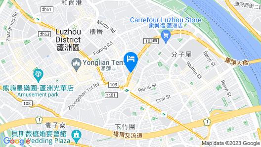 Hotel G7 Taipei Map
