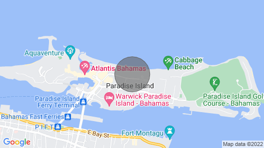 Sunrise Beach Club & Villas - Unit #5, Seconds From the Beach & Minutes From ATL Map