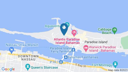 The Royal at Atlantis Map