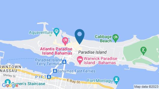 The Beach at Atlantis Map