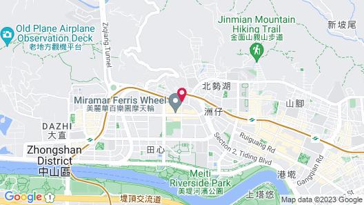 Grand Victoria Hotel Map