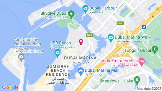 Le Royal Meridien Beach Resort And Spa Map