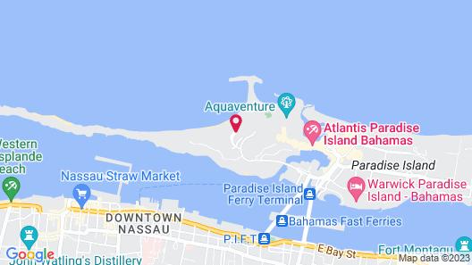 The Reef at Atlantis Map