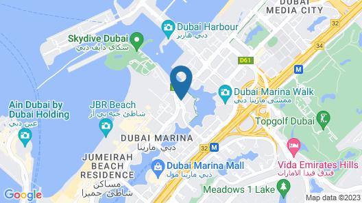 Grosvenor House, a Luxury Collection Hotel, Dubai Map