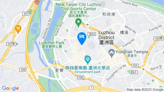 Surreal Motel - Lujhou Branch Map
