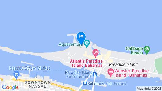The Cove at Atlantis Map