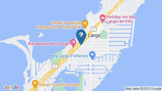 Key Largo Inn Map